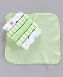 Cucumber Wash Cloths  - Pack of 6 (Color May Vary)
