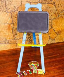 Muren Dora the Exploler Learning Easel Board - Blue Black