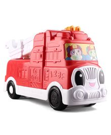 Leap Frog Tumbling Blocks Fire Truck - Red