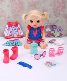 Baby Alive So Many Styles Doll with Accessories Blue - Height 10.2 cm