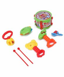 House of Kids Baby Rattles Pack of 6 - Multicolor
