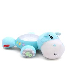 Fisher Price Hippo Projection Soother - Blue