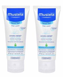 Mustela Hydra Bebe Facial Cream Pack of 2 - 40 ml Each