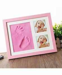 Mold Your Memories Imprint Frame With Clay - Pink