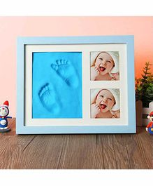 Mold Your Memories Imprint Frame With Clay - Blue