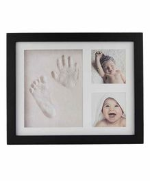 Mold Your Memories Imprint Frame With Clay - Black