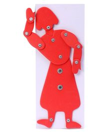 Kutuhal Dancing Doll Activity Kit - Red