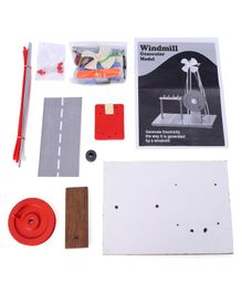 Kutuhal Do-it-Yourself 2 in 1 Windmill Generator Model - Multicolor