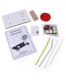 Kutuhal Do-it-Yourself DC Generator Kit - Multicolor