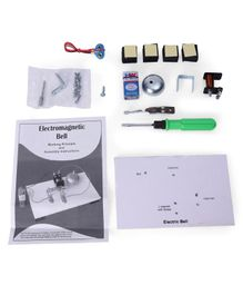 Kutuhal Electric Bell Making Kit - Multicolor