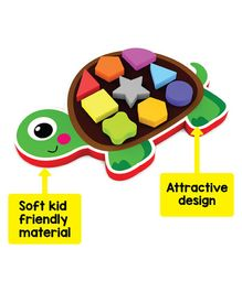 Play Panda My First Shapes Tortoise Puzzle - Multicolor