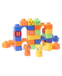 Rising Step Play Soft Building Block Set - 30 Pieces
