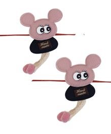 Arendelle Toy Detailed Pack Of 2 Rakhi - Multi Color
