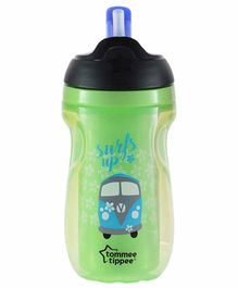 Tommee Tippee Insulated Straw Sipper Green - 260 ml