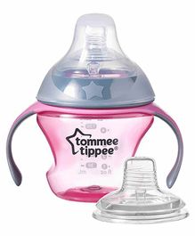 Tommee Tippee Transition Cup Pink - 150 ml