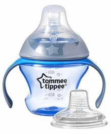 Tommee Tippee Transition Cup with Twin Handle Blue - 150 ml