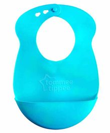 Tommee Tippee Roll 'n' Go Bib with Crumb Catcher (Colours May Vary)