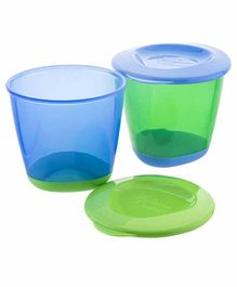 Tommee Tippee Pop Up 2 Weaning Pot (Color May Vary)