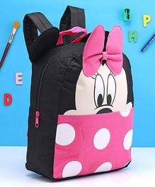 Fox Baby Minnie Mouse School Bag Pink - 11 Inches