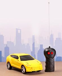 Rising Step Remote Controlled Car - Yellow