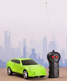 Rising Step Remote Controlled Car - Green