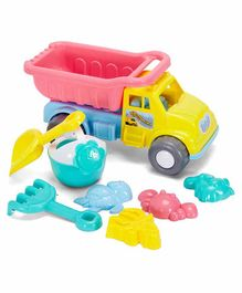 Comdaq Beach Set Dumper with Accessories Multicolour - 7 Pieces