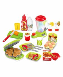 Comdaq Waffle and Juicer Playset - Multicolour