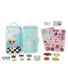 LOL Surprize Style Suitcase with Doll and Accessories - Height 17 cm (Color May Vary)