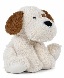 Fuzzbuzz Puppy Soft Toy White - Height 41 cm