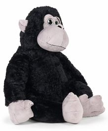 Fuzzbuzz Orangutan Plush Monkey Toy Black - 64 cm