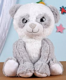 Fuzzbuzz Sitting Panda Soft Toy White - Height 25cm