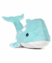 Fuzzbuzz Dolphin Soft Toy Blue - Length 100 cm
