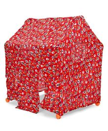 Kids Zone Global Play Tent House (Color & Print May Vary)