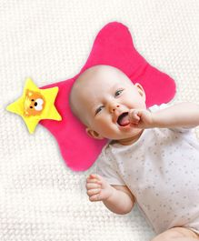 Babyhug Baby Pillow Butterfly Shape - Pink