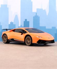 TurboS Remote Controlled Scaled Lamborghini Licensed Toy Car - Orange