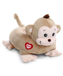 Babyhug Monkey Shaped Soft Seat - Light Brown