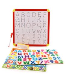 Itoys 4 In 1 Magnetic Slate Multicolor - 43 Pieces