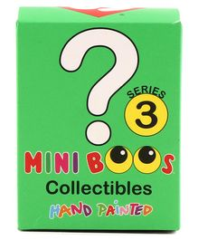Ty Toy Mini Boos Plush Toys Collection Pack of 12 Multicolor - Height 6.5 cm
