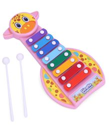 Ratnas Xylophone Giraffe Shaped - Multicolour
