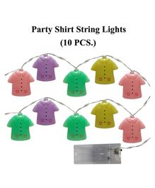 Amfin T-Shirt String Light Multicolor - Pack of 10