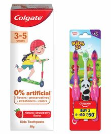 Colgate Toothpaste & Toothbrush - 80 gm
