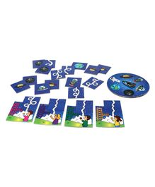 Kids Zone Board Game Blue -  60  Pieces