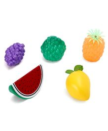 Kids Zone Pretend Play Fruit Basket Multicolor - 5 Pieces