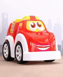 Kids Zone Friction Powered Funny Fire Vehicle - Red