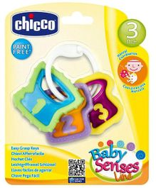 Chicco Easy Grasp Keys 3 Pieces (Color May Vary)