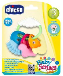 Chicco Gums Rubbing Fishes (Color May Vary)