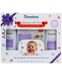 Himalaya Herbal Baby Care Gift Pack - Pack of 4 Items