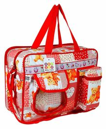 BeyBee Mama's Diaper Bag - Red
