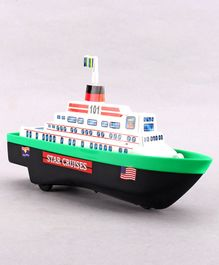 Shinsei Pull Back Ship  (Color May Vary)