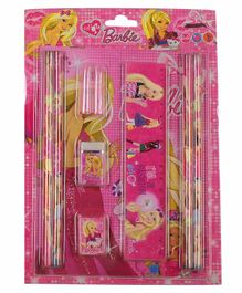 Funcart Stationary Set Pink  Pack of 1 - 10 Pieces